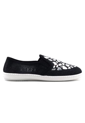New York Sneakers black Anj Slip On Shoes NE675SH77GVIPH_1