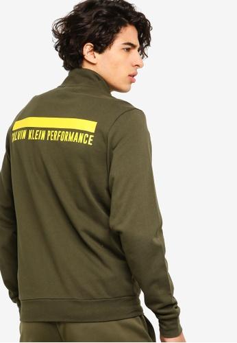 Calvin Klein 黑色 Back Logo Jacket - Calvin Klein Performance 3E317AAB71F06CGS_1