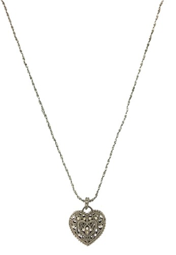 La Miina silver Awen Long Necklace FADD6AC98C84C8GS_1