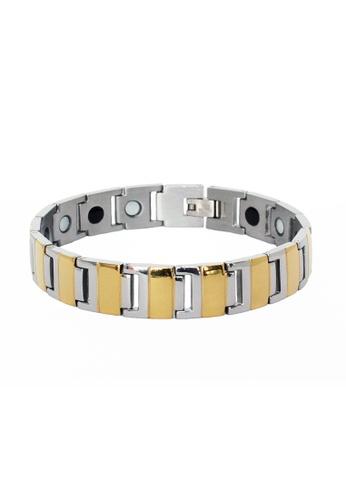 Elfi silver Elfi Stainless Steel Magnetic Power Energy Health Bracelet Bangle 07 BF1E2AC72750F8GS_1