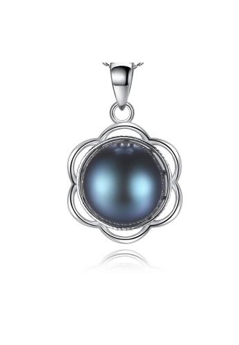 SUNRAIS silver Premium Color Stone Silver Simple Design Necklace 96416AC86C5C61GS_1