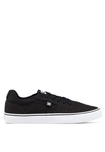 DC Shoes black Rowlan Shoes C9039SHA235FECGS_1