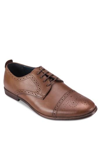 經典繫帶esprit 會員皮鞋, 鞋, 鞋