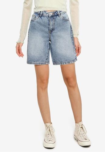 Noisy May blue Lucky Longboarder Shorts 848D7AAD6784A6GS_1