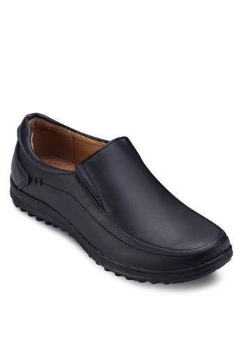 經典圓頭紳士皮鞋,esprit hk分店 鞋, 懶人鞋