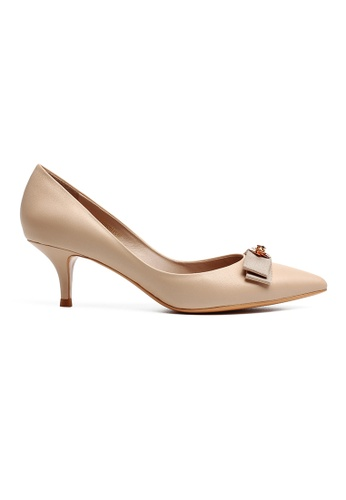Byford beige Dell Pointed Toe Heels A4CF9SH39847E8GS_1