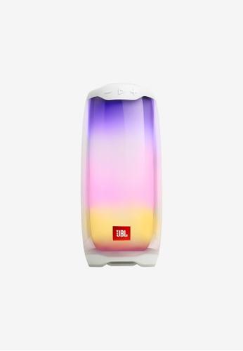 JBL white JBL Pulse 4 Portable Bluetooth Speaker 6B803AC6B247CBGS_1