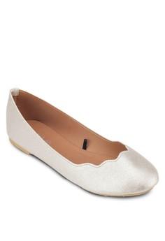 Sammy Scalloped Ballet Flats