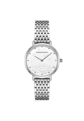BCBG silver BCBGMAXAZRIA BG50990009 Silver Stainless Steel Watch 00CDFAC947D84FGS_1