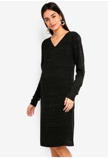 e01b156b7e2f Maternity Helen Long Sleeve Dress 9AFC9AA60C9AA1GS_1