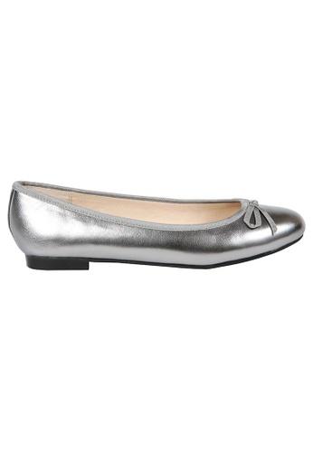 MAUD FRIZON silver Soft Patent Ballerinas MA153SH73YDMHK_1