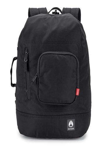 Nixon black Nixon - Origami Backpack - All Black Nylon (C29481148)  3DA86ACA4024C6GS 1 d57928f704e7