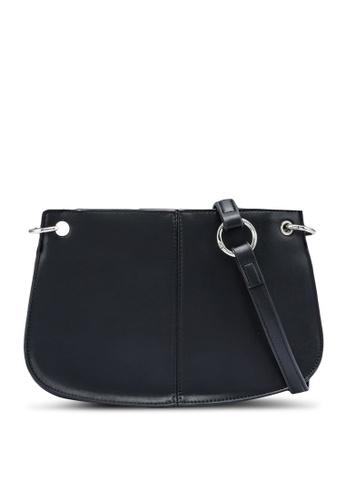 Red's Revenge black Moderna Minimalist Shoulder Bag 251C2AC882FFA2GS_1