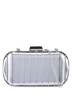 a3e075bf56 Glamorous silver Metallic Mini Luggage 725DBAC670E96DGS_1