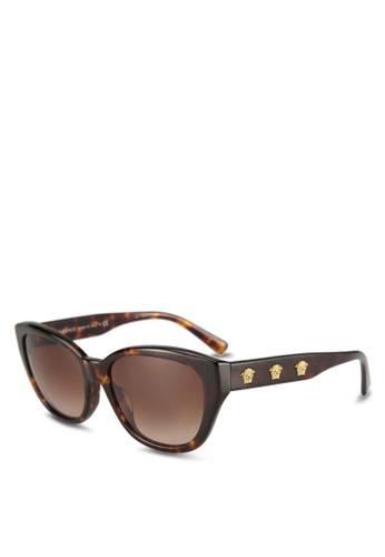 Versace brown Versace VE4343A Sunglasses B4BCDGLF08E510GS_1