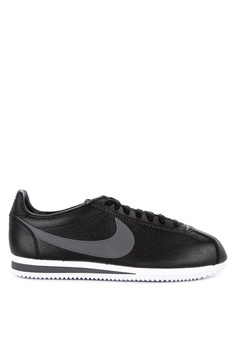 abfe946447796 Nike black Classic Cortez Leather Shoes 64CE2SH3BCE6D0GS 1