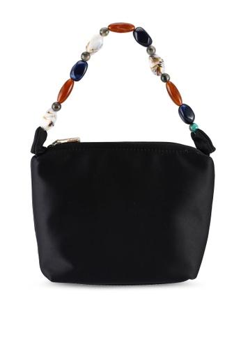 Milliot & Co. 黑色 Ella Top Handles Bag 04662AC31A7377GS_1