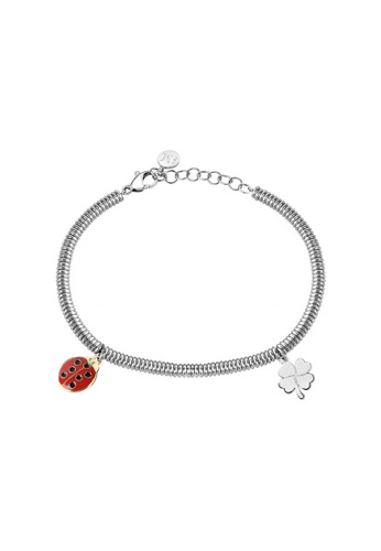 Morellato silver Enjoy Bracelet SAIY09 Steel Crystals 101CCAC4A8F475GS_1