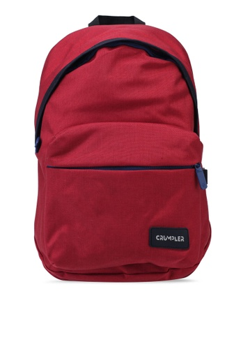CRUMPLER red Safe Haven Backpack Backpack 9072DACE6B5309GS_1