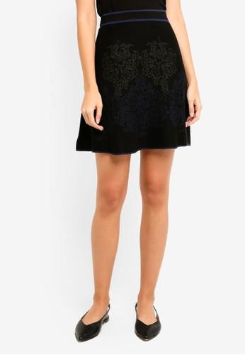 Max Studio black Knit Skirt 6E2C0AA47439EBGS_1