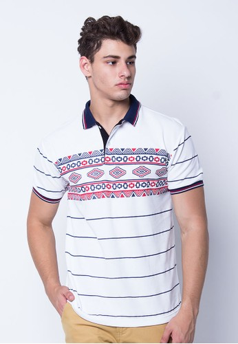 Polo Shirt Tribal Jade