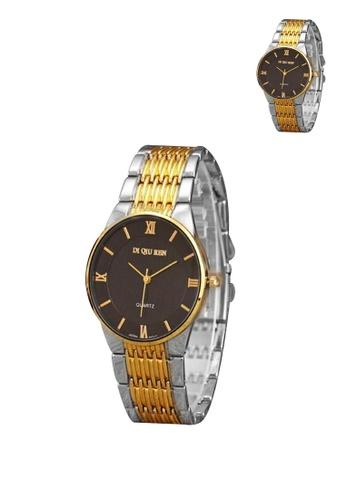 Manmico gold DI QIU REN Stainless Steel Women's Watch 003 Buy  1 Take 1  MA606AC16LBZPH_1