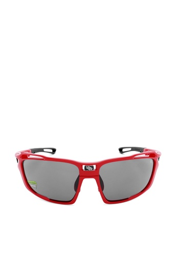 5ddf2bbc568 Shop Rudy Project Rudy Project Sintryx Sports Eyewear in Fire Red Gloss  with Smoke Black Lenses SP491045-0000 Online on ZALORA Philippines