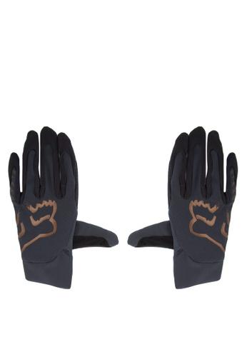 Fox Racing black Flexair Gloves FO276AC0JWH9PH_1
