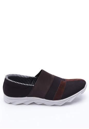 Dr. Kevin black Dr. Kevin Men Casual Shoes Slip On 13245 - Black/Brown DR982SH15LZWID_1