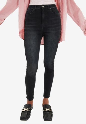 Trendyol black High Waist Skinny Jeans F7BE7AA512009FGS_1