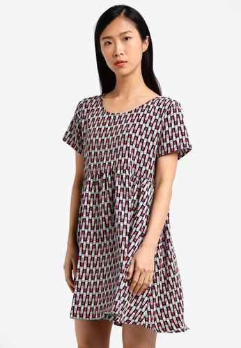 Glamorous multi Printed Dress GL059AA0RZ4QMY_1