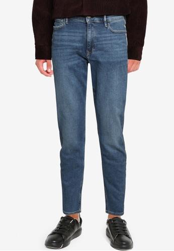 Banana Republic blue Slim Watershed Denim Jeans 10D95AAFA5D2CDGS_1