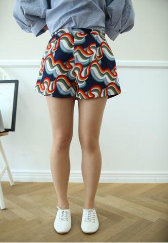 Acacia 印花短褲, esprit鞋子服飾, 短褲