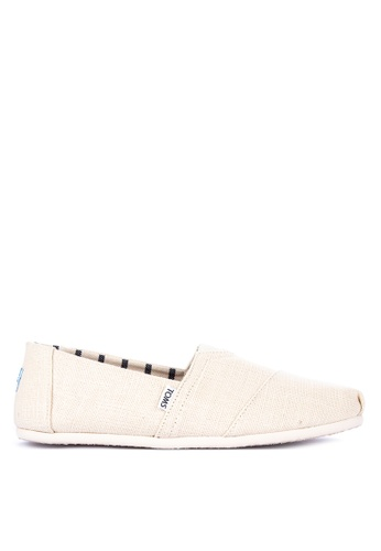 TOMS white Alpargata Slip-on B7094SH3525439GS_1