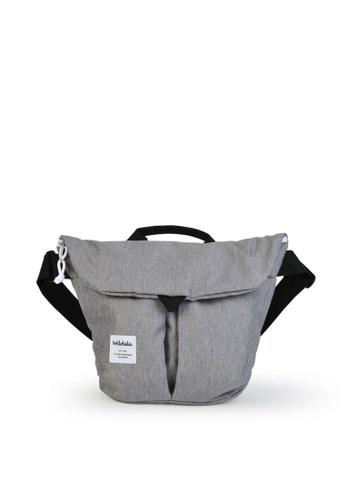 Hellolulu grey Hellolulu Kasen All Day Shoulder Bag (Dark Gray) 5668FACC12626AGS_1