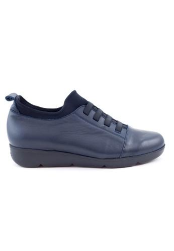 Shu Talk 藍色 超軟牛皮舒服女鞋 SH544SH09MSKTW_1