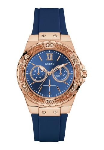 Guess Watch blue Guess Jam Tangan Wanita Analog W1053L1 83C44AC9835E46GS_1