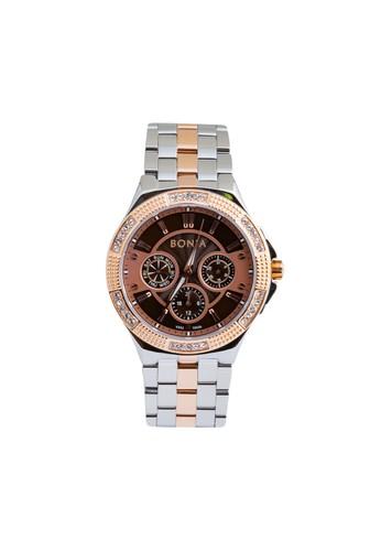 Bonia silver Bonia - BP10424-2642S - Jam Tangan Wanita - Silver Roesgold 96060AC7AC0D3EGS_1