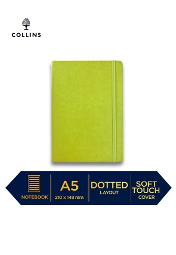 Collins green Collins Legacy  ─  NotebookA5 Dotted Bright Green 82D2CHL2960C58GS_1