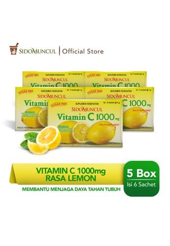 Sido Muncul yellow Paket Sido Muncul Vitamin C 1000 mg Lemon (5 Pack) 522E6ES6129F5EGS_1