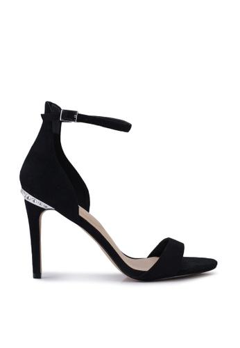 ALDO 黑色 Crispata Open Toe Ankle Strap Stiletto Heels 643FBSHE8D6D88GS_1