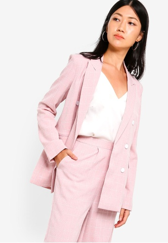 7685d06cc040f8 Buy ZALORA Double Breasted Blazer Online on ZALORA Singapore