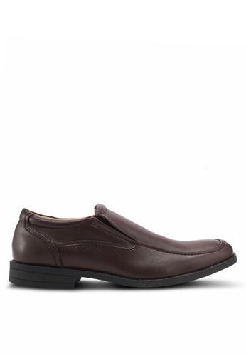 Bata brown Comfit Crane Dress Shoes 887E1SH5909060GS_1