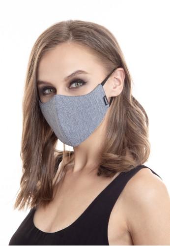 MANLY blue OTOKORASHI 3ply Face Mask Blue 2F7CDESD6EACCFGS_1