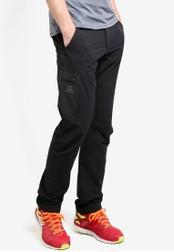 Salomon black Wayfarer Utility Pants SA438AA90WENMY_1
