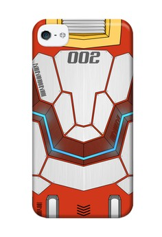 Mecha JD002 Glossy Hard Case for iPhone 4, 4s