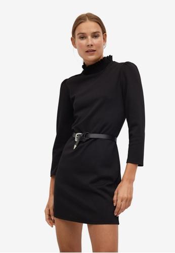 Mango black Elastic Neck Dress E7F41AA7FF6663GS_1