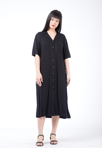 Simplify black Lexi Dress Black 72F5BAAE0128BBGS_1