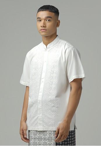 ZOYA white Syabil Kaftan ZOYA 7E9D1AACCE68A6GS_1