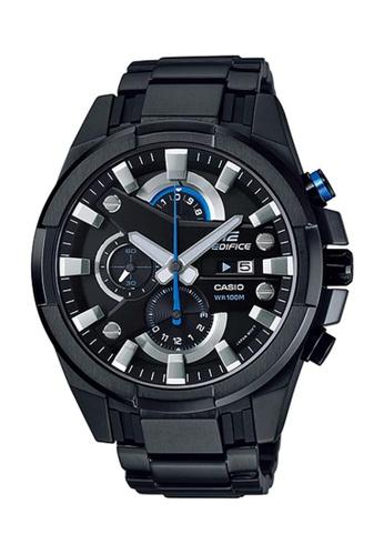 Casio black Edifice Chronograph Watch EFR-540BK-1A 93674AC5055501GS_1